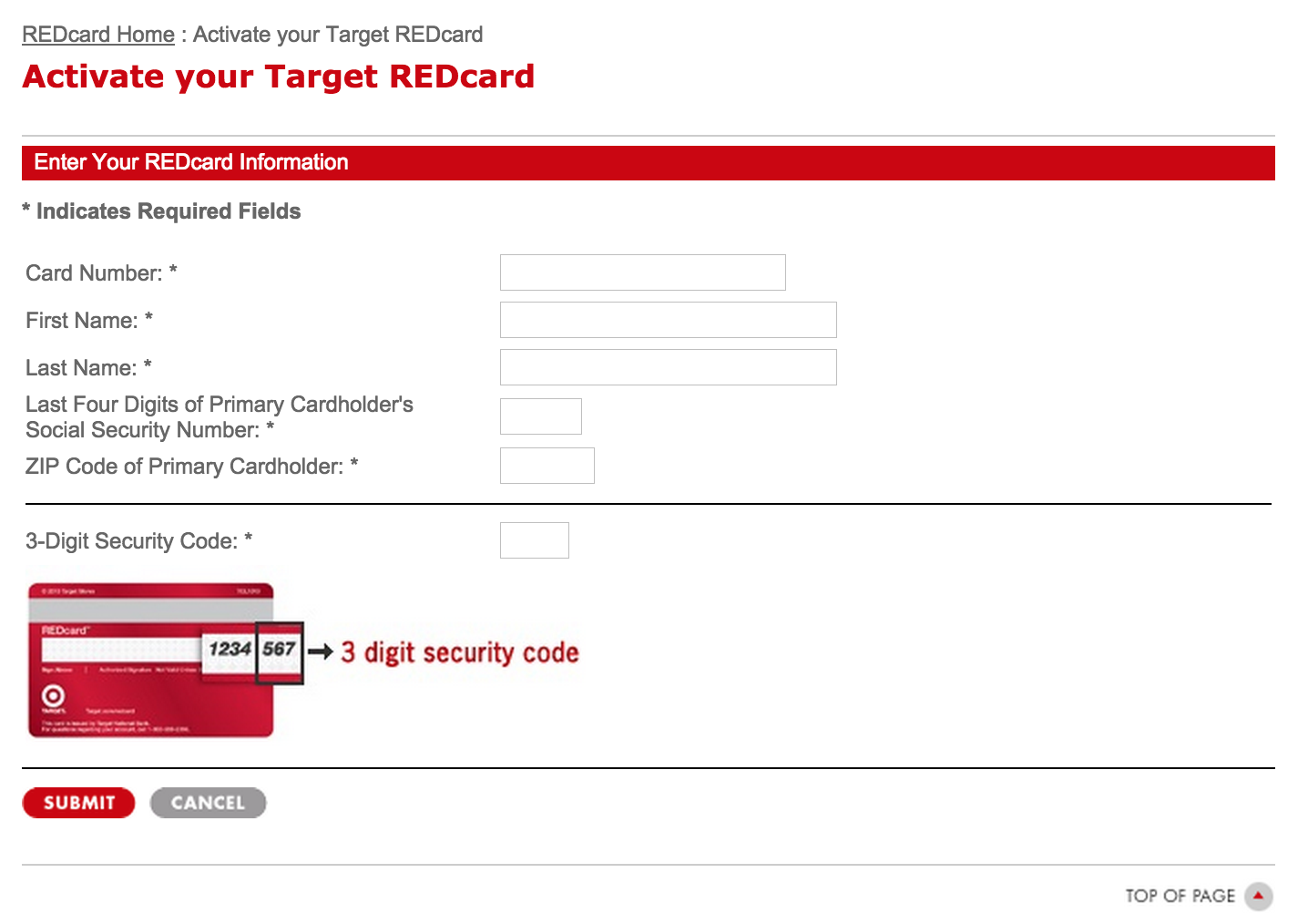 how to get a target credit card