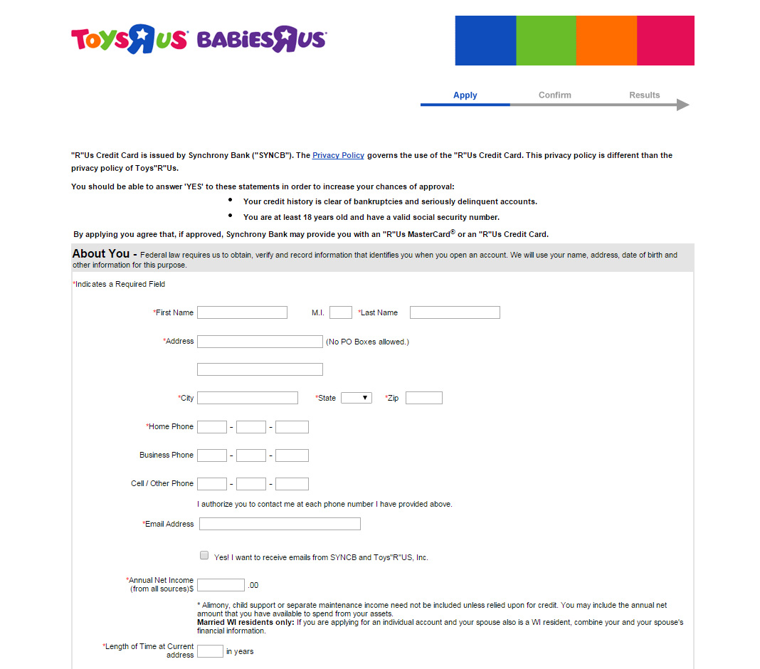 How to apply for a toys r us credit card toysrus apply 02 step 4 select how you would prefer to receive your credit card magicingreecefo Image collections